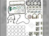 "Engine Rebuild Kit - Less Bearings - .020"" Oversize Pistons Ford 6600 6700 6610 268 BSD444 6710"
