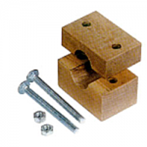 Straw Walker Return Pan Wood Block Bearing Set - Middle