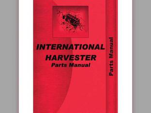 Parts Manual - 454 2400 International 454 454 2400 2400