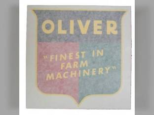 "Tractor Decal Finest in Farm Machinery 8"" Vinyl Oliver 1755 Super 77 1850 70 1650 1555 880 770 Super 55 1655 550 60 2150 1800 1955 1600 77 66 660 1855 Super 88 1900 Super 66 88 1750 1950 1550 2050"