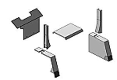 Upholstery Kit - Gray