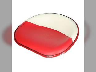 Pan Seat 4 Bolt Mount Vinyl Red & White International C 350 W6 130 Super C 606 H 230 W4 460 400 W9 2404 2606 340 2504 450 404 Cub 240 140 300 200 504 100 330 Super MTA Super H Super M M MD Cub Lo-Boy