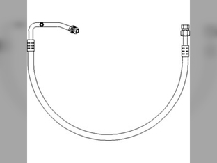 Air Conditioning Evaporator Outlet Line