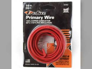Wire Primary 14 Gauge 20' Red