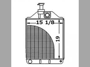 Radiator Massey Ferguson 575 1876608M3