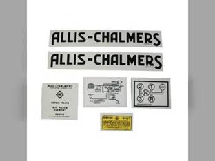 Decal Set G Mylar Allis Chalmers G