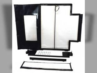 All Weather Enclosure Replacement Door Skid Steer Loaders L160 L170 L175 L180 L185 New Holland L185 L160 L180 LX665 LS190 LX865 LS160 LS170 L190 L175 L170 LS180 LX565 LX885