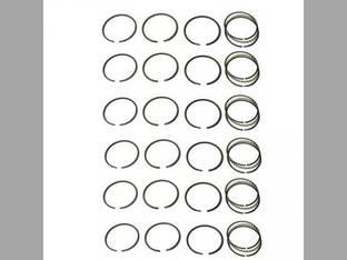 Piston Ring Set - Standard - 6 Cylinder Allis Chalmers 7080 7580 7040 7060 7045 7050 D3700 D3400 D3500 7030 670HI 670T 645B D21 670I D3750 210 220 7G Gleaner L2 L