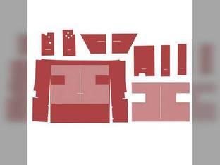 Cab Foam Kit less Headliner Red International 986 1586 Hydro 186 1486 1086 886