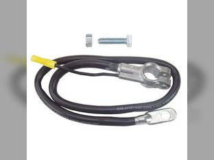 "Battery Cable - 25"" - Black 4 Gauge"