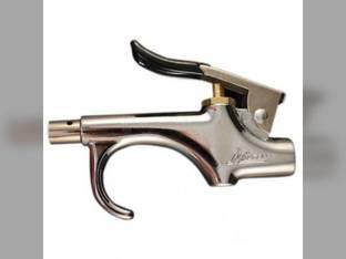 "Milton Air Tool Blo Gun - Lever Style W/ Safety Nozzle & Rubber Nozzle 1/4"" NPT"