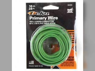 Wire Primary 16 Gauge 28' Green