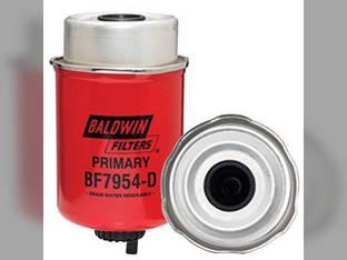 Filter - Fuel Primary Water Separator W / Removable Drain BF7954 D New Holland TM140 Case 580 Super M 580 580 590 590 1150 John Deere 6430 6230 6330 7130 Case IH MXM120 MXM155 MXM140 MXM175 MXM130