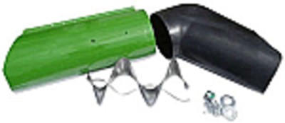 Unloading Auger Extension Kit with Grain Saver