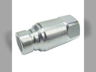 "Parker - Hydraulic Quick Coupler Nipple Male Flat Face 1/2"" 3675 PSI Universal Thomas T137 T255 T153 T320 T105 T205 T250 T175"