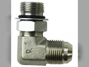 """Hydraulic Adapter 90° Angle 5/8"""" Male JIC 37° 5/8"""" Male O-Ring Fitting"""