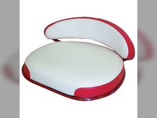 Seat Assembly Vinyl Red/White International 660 460 560