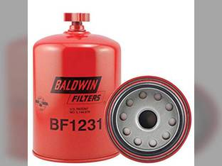 Filter - Fuel / Water Seperator Spin On With Drain Filter BF1231 Ford 8970 8670 8870 8770 New Holland TR88 8670A 8870A 8670 TR89 CR940 8770 CR920 8770A TR99 TR87 1095 8870 CX840 8970A TR98 TX66 8970