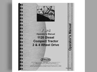 Operator's Manual - 1120 Ford 1120