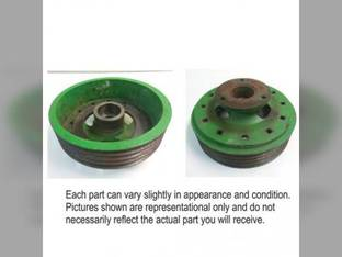 Used Conditioner Roll Drive Pulley John Deere 920 925 915 910 936 930 935 916 926 AE49385