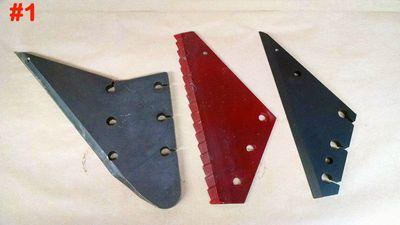 Supreme Mixer Knife / Backing Plates