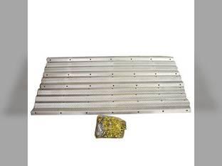 Cylinder Rasp Bars Kit - Chrome John Deere 9650 9660 9610 9600 AH205125