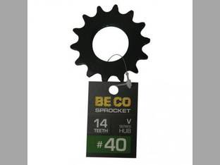 Weld-On Sprocket #40 Chain 14 Tooth V-Series Hub