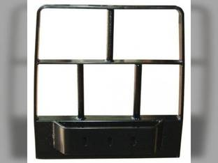 Grille Guard With Weight Bracket New Holland TC34DA TC29 T2320 TC35 TC33 T2220 TC48DA TC30 TC55DA TC45A TC40 T2210 T2310 TC25 T2420 TC45 T2410 Case IH DX45 Farmall 45 Farmall 60 Farmall 40 D45 D35
