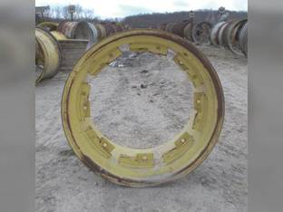 "Used 15"" X 26"" 8 Channel MFWD Rim John Deere 4055 4255 4455 4555 4755 4955 4560 4760 4960 RE47617"