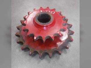 Used Sprocket - Double Left Hand Rotor Drive Case IH RBX462 RB464 RB454 RBX453 RBX463 RBX452 New Holland BR7070 BR740A BR750A BR740 BR750 BR7060 87664057 86610110