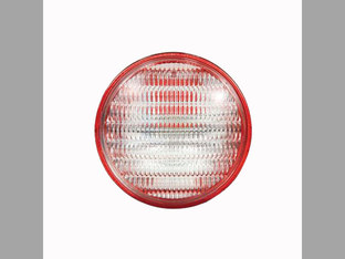 Sealed Beam, W/Transparent Red Background