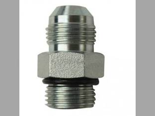 "Hydraulic Adapter 1/2"" Male JIC 37° x 1/2"" Male O-Ring 3/4-16 x 3/4-16 NPT"