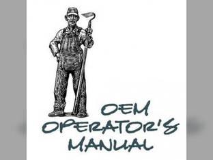 Operator's Manual - L2350 L2350DT Kubota L2350 L2350 L2350