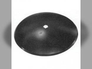 """Disc Blade 24"""" Smooth Edge 1/4"""" Thickness 1-1/2"""" Square X 1-5/8"""" Round Axle John Deere B35610"""