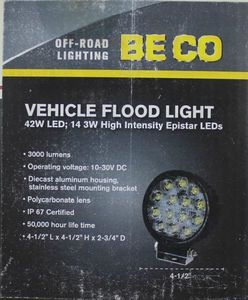 LED Tractor 42 watt Flood Light