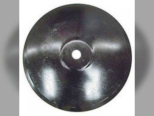 "Disc Blade 22"" Smooth Edge 1/4"" Thickness 1-1/2"" Round Axle Raised Flat Center"
