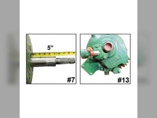 Used Feeder House Reverser Gear Box Assembly John Deere 9570 9560 HEADER.