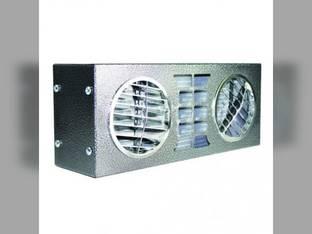 "Auxiliary Heater 16"" x 6-1/2"" x 9"" 2 Ducts 30 000 BTU 24V"