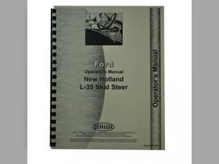 Operator's Manual - L35 Skid Steer New Holland L35