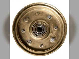 """Idler Pulley Flat Type 4"""" O.D. 5/8"""" Bore"""