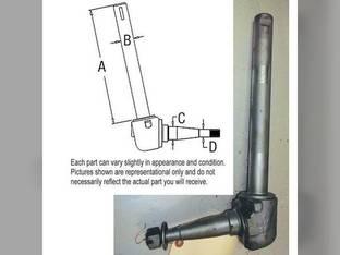 Used Spindle Massey Ferguson 50 40 40 65 182560M92