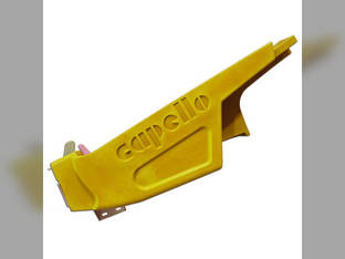 """Poly Fender LH CLAAS Yellow 30"""" w/ Hardware"""