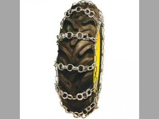 Tractor Tire Chains - Double Ring 5/16 Chain 14.9 x 24 - Sold in Pairs
