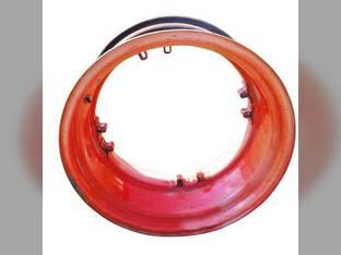 """Used 16""""x 30"""" 8 Loop Rear Rim Kubota M96 M8560 M9000 M8540 M5-111 M6S-111 M9960 M9540 M8200 M5-91 3A999-13880"""