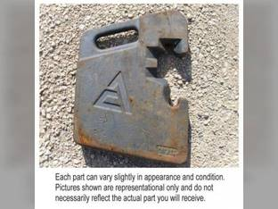 Used Suitcase Weight 100 lbs. Allis Chalmers 7040 7060 7045 7050 7000 7020 7030 7080 7010 70269780