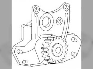 Oil Pump Massey Ferguson 6190 6280 6170 3645 3120 8450 6180 4800 3140 8120 4260 4900 3660 6290 6270 3125 4263 8220 4360 3655 3638596M91 Perkins 1006-60T T6354.4