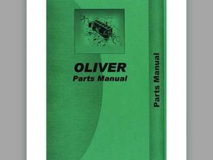 Parts Manual - 1250 Oliver 1250 1250