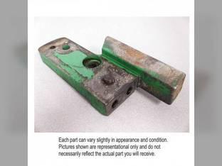 Used Sway Block Support Bracket LH John Deere 4350 4455 4450 4250 4255 4055 4440 AR96600