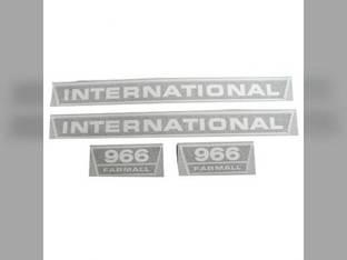 Decal Set International 966