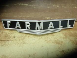 Name Plate-farmall New